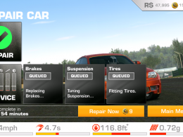 Real Racing 3 Car Repaired