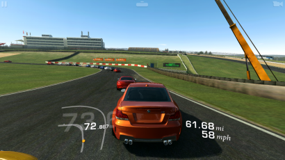 Real Racing 3 Track Clog Up